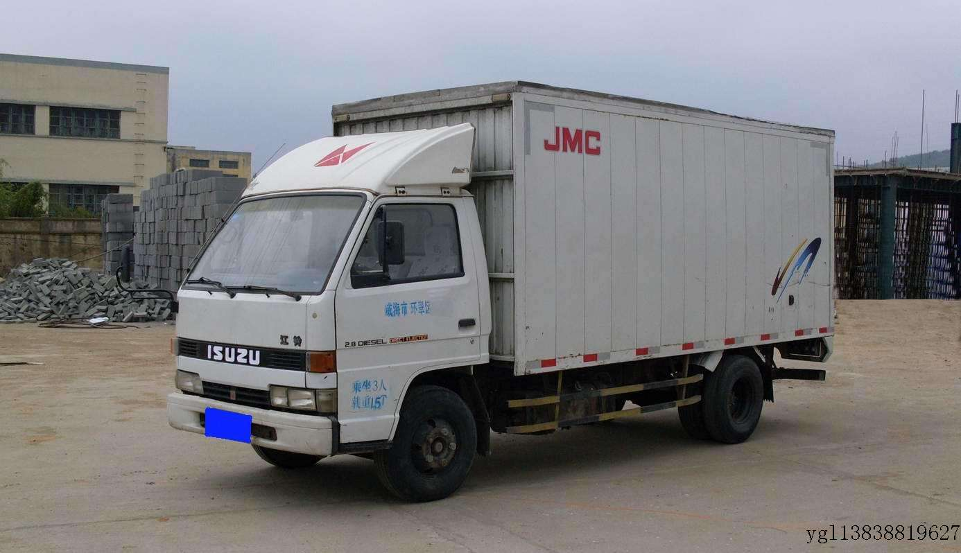 2米厢式货车图片